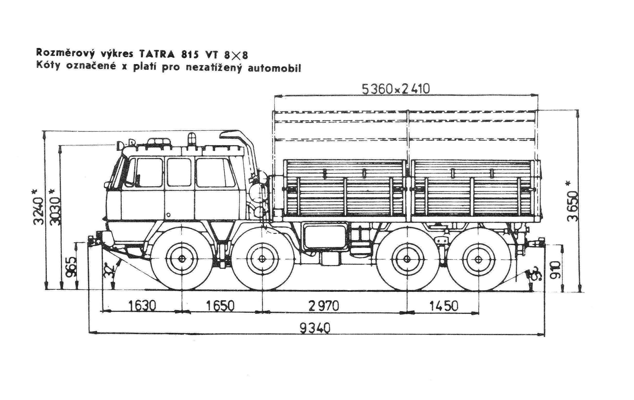 Czk Tatra 815 Vt 26 265 8x8 1r Ceskoslovensko Cr Sr Czk Cze