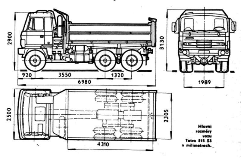 Czk Tatra 815 S3 26 208 6x6 2 Ceskoslovensko Cr Sr Czk Cze Svk