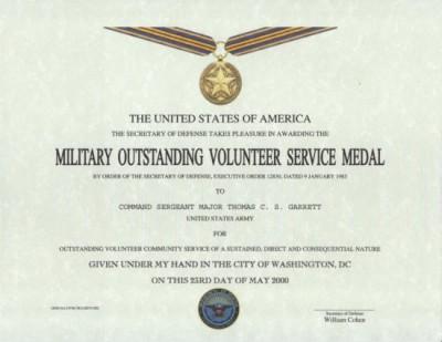 Medaile za vynikaj c slu bu dobrovoln ka other state medals for Air force decoration examples