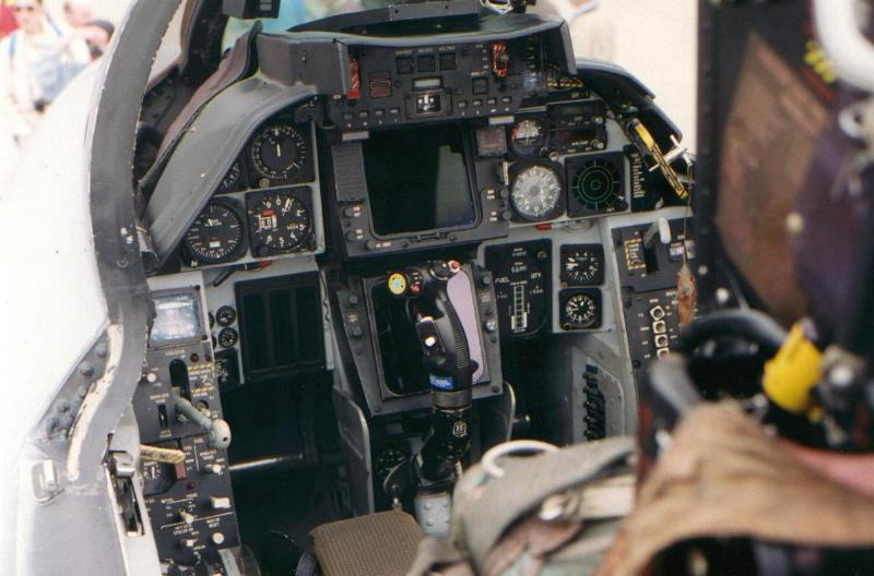 F 14d Cockpit And this not the A