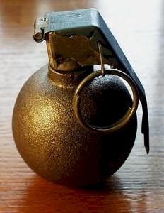 Grenade, Hand, Practice, Delay, M69 : USA