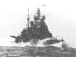 obr.13 Duke of York - britská bitevní loď třídy King George V., spuštěna na vodu roku 1941