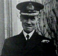 obr.3 Kennedy - kapitán ozbrojené obchodní lodi Rawalpindi