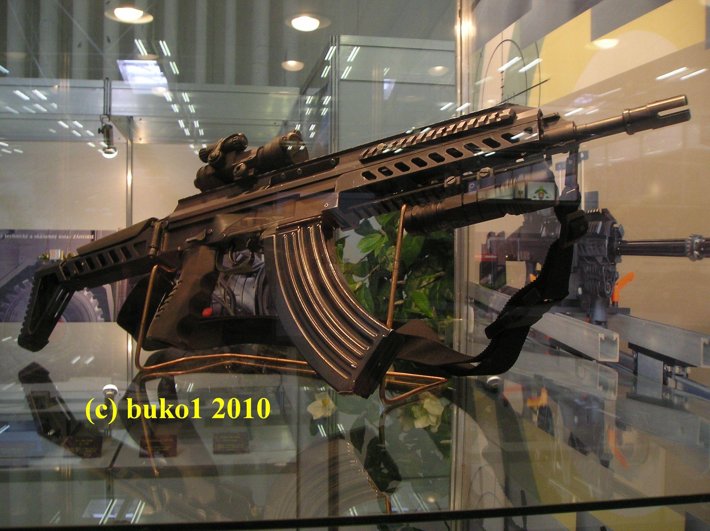 útočná puška s krátkou hlavňou