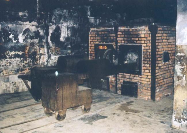 Spalovací komory krematoria, Osvětim I.
