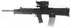 britská puška L85A1, ideový následovník EM-2