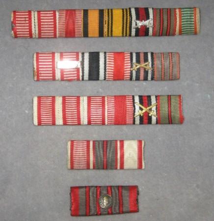 Medaila za zranenie - náprsné stužky. [foto: Ivan Chudý]
