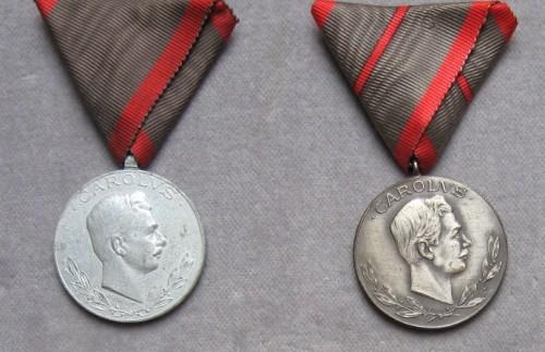 Vojnový invalid a medaila za jedno zranenie. [foto: Ivan Chudý]