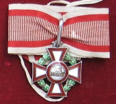 Vojenský záslužný kríž II. triedy [Foto: Ivan Chudý]
