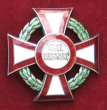 Vojenský záslužný kríž I. triedy [Foto: Ivan Chudý]