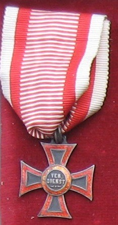 Vojenský záslužný kríž - pôvodný typ [Foto: Ivan Chudý]