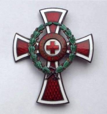 Dôstojnícky kríž Miniatúra dôstojníckeho kríža - reverzfoto: Ivan  Chudý