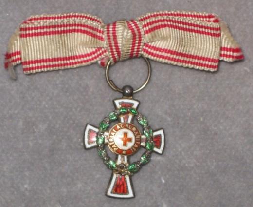 Miniatúra kríža II. triedy foto: Ivan Chudý