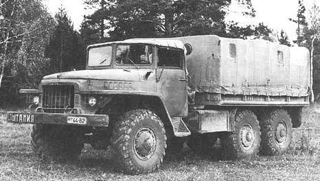 Prototyp sériovej verzie vozidla Ural-375