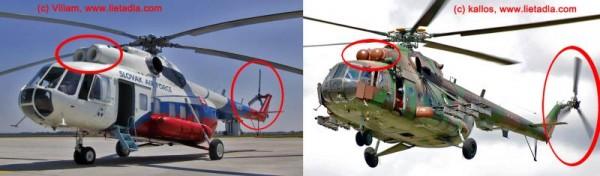 porovnanie Mi-8 a Mi-17