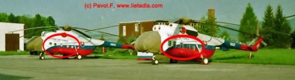 porovnanie Mi-8T a Mi-8PS