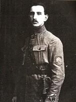Otakar Sviták v hodnosti podporučíka československých legií, 1917