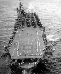 velké E, letadlová loď Enterprise