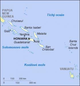 Šalomounovy ostrovy