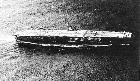 Akagi, vlajková loď admirála Naguma