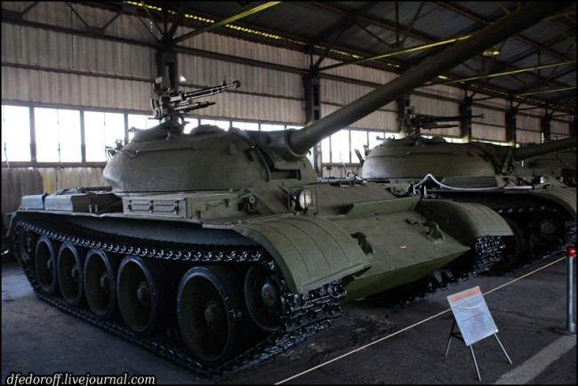 Stredný tank T-54-2, múzeum v Kubinke, autor Dmitrij Fedorov