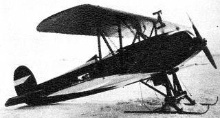 Avia BH - 21 na lyžích