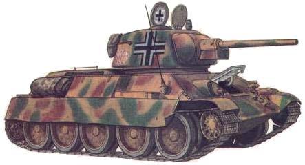 PzKpfw T-34 747(<em>r</em>) / T-34/76 model 1943